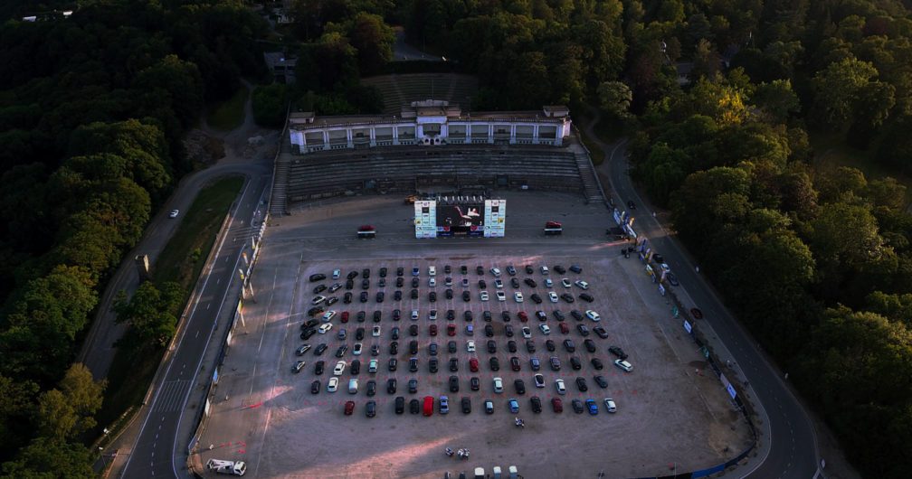 Drive in Cinéma à Namur à la Citadelle